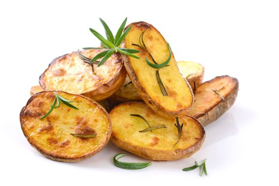 baked potatoes with rosemary